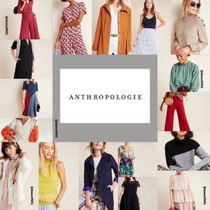 Anthropologie Clothing Below